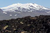 The mystical Snæfellsjokull Glacier