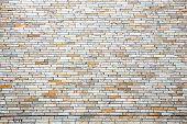 Modern brick wall using as background