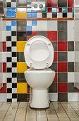 The Colourful Public Toilets