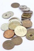 Japanese yen coin