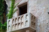 stock photo of juliet  - Balcony of Juliet and romeo Verona Italy - JPG