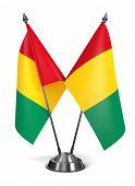 Guinea - Miniature Flags.