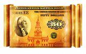 Savings Bond Gold Banner