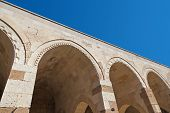 Gallery of the Sultanhani caravansary on the Silk Road - Turkey