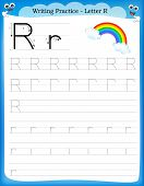 Writing Practice Letter R