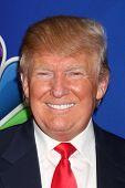 LOS ANGELES - DEC 16:  Donald Trump at the NBCUniversal TCA Press Tour at the Huntington Langham Hotel on December 16, 2015 in Pasadena, CA
