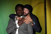 LOS ANGELES - JAN 16:  Babou Ceesay, Emmett J Scanlan at the NBC TCA Winter 2015 at a The Langham Huntington Hotel on January 16, 2015 in Pasadena, CA