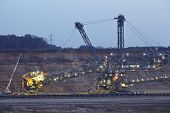 Soft Coal Open Cast Mining Hambach (germany) - Rotary Excavator