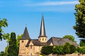 The Michael Church in historical Fulda, Germany