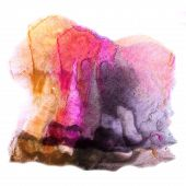 modern art orange, violet avant-guard artist seamless  backgroun