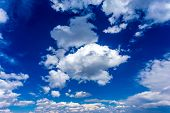picture of clouds sky  - Blue sky and clouds XXL - JPG