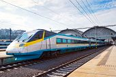 Czech Railways - Sc Super City Pendolino 680 Train