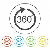 Vector 360  Icon