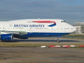 British Airways Boeing 747 Jumbo