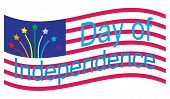 The 4th of July. USA Independence day