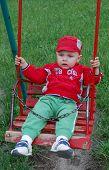 Little Child In Cradle