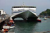 Cross Channel Sea Cat In Weymouth