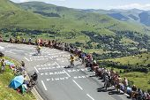 Road Of Le Tour De France