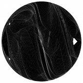 Geometric Squeeze Twist Wireframe Sphere