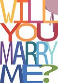 Will You Marry Me Sign