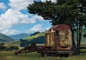 Railway Crane Resting