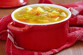 picture of celery  - Chicken soup with potato - JPG