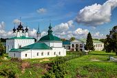picture of paysage  - Ancient Russian churches in Suzdal - JPG