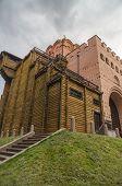 foto of kiev  - Golden Gate ancient building in Kiev - JPG