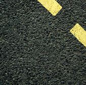 foto of tar  -  Fresh tar asphalt background - JPG