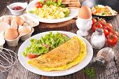 pic of scrambled eggs  - omelet - JPG