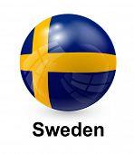 image of sweden flag  - Sweden state flag - JPG