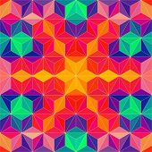 picture of psychedelic  - Vector Abstract Modern Psychedelic Pattern - JPG