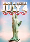 foto of statue liberty  - July 4 Statue of Liberty poster celebrating USA Independence Day - JPG