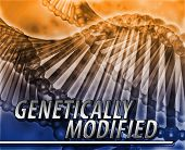 stock photo of genetic engineering  - Abstract background digital collage concept illustration genetically modified genetics - JPG