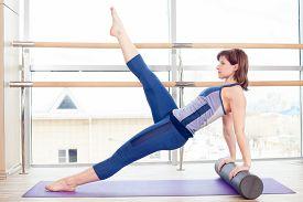 stock photo of pilates  - fitness - JPG