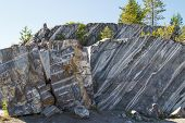 Постер, плакат: Ancient Marble quarry