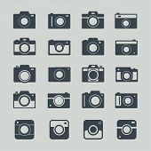 Camera Icons Set poster