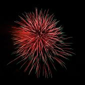Постер, плакат: Red Green Amazing Fireworks