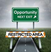 Restricted Opportunity poster