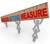 Success Beyond Measure - Team Lifting Ruler