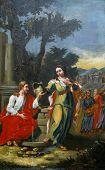 Conversión milagrosa de una mujer samaritana