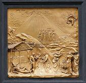 picture of noah  - Noah by Ghiberti - JPG