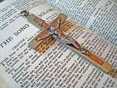 Bible Song Of Solomon And Crucifix
