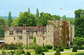 stock photo of hever  - Hever Castle Hever England on a sunny day - JPG