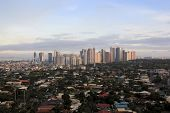 Fort Bonifacio Skyline Manila Philippinen