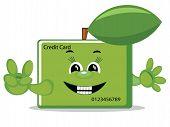 Credit card , vector