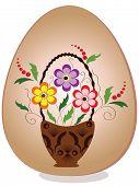 Easter egg,vector