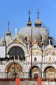 Facade of the Saint Mark's Basilica