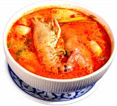 Tom Yum Kung (Thai Spicy Soup)