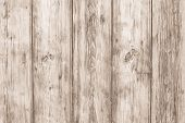 Light Wooden Desk. Oak Fence Texture. Old Wood Brown Background. Hardwood Timber Pattern. Dirty Rust poster